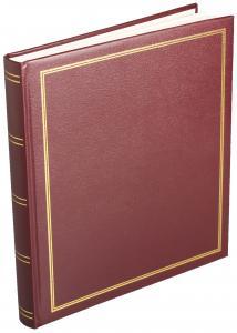 Diamant Album Självhäftande Röd - 29x32 cm (40 sidor)