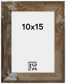 Ram Superb Träbrun 10x15 cm