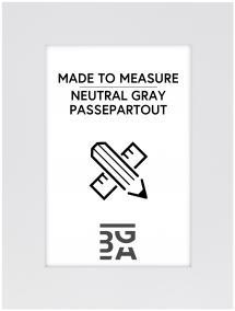 Passepartout Neutral Grey - Måttbeställd