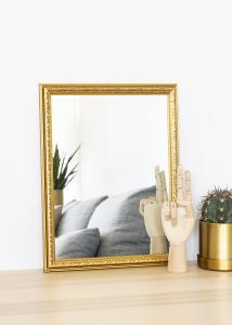 Spegel Nost Guld 30x40 cm