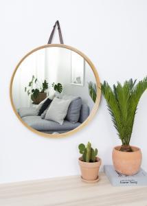 Spegel Bambu 60 cm Ø