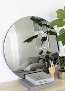 Spegel House Doctor Walls Grå 80 cm Ø