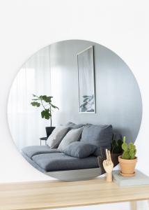 KAILA Rund Spegel Smoked Grey 110 cm Ø