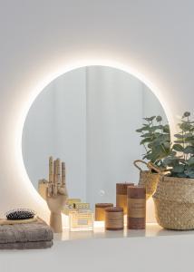 KAILA Spegel Frost LED 60 cm Ø