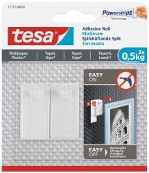 Tesa - Självhäftande spik för alla typer av väggar (max 2x0,5kg)