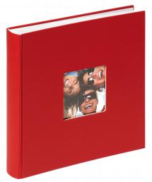Fun Album Röd - 30x30 cm (100 Vita sidor / 50 blad)