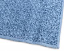 Gästhandduk Stripe Frotté - Mellanblå 30x50 cm