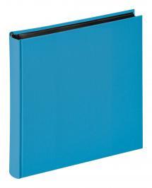 Fun Havsblå - 30x30 cm (100 Svarta sidor / 50 blad)
