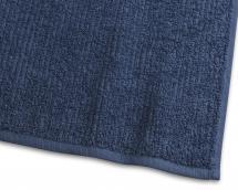 Handduk Stripe Frotté - Marinblå 50x70 cm