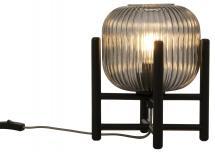 Bordslampa Vinda Liten - Svart/Rök