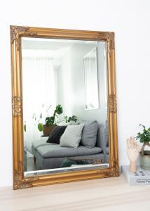 Spegel Bologna Guld 60x90 cm