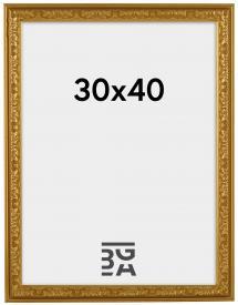 Nostalgia Guld 30x40 cm