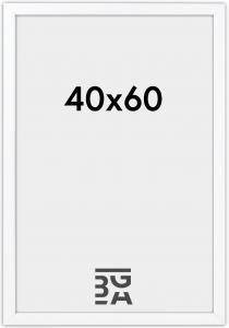 Stilren Plexiglas Vit 40x60 cm