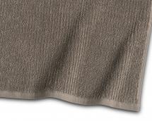 Gästhandduk Stripe Frotté - Brun 30x50 cm