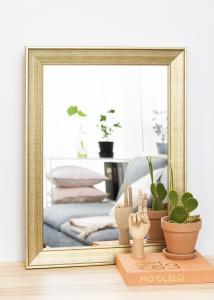 Spegel Alina Guld 62x82 cm