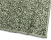 Gästhandduk Stripe Frotté - Grön 30x50 cm