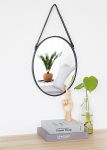 Spegel Lea Svart 35x45 cm