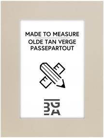 Passepartout Olde Tan Verge - Måttbeställd