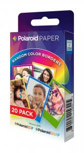 Polaroid Instant Zink Media 5,1x7,6 cm Rainbow - 20 Kort
