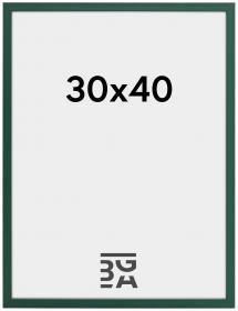 Ram E-Line Akrylglas Grön 30x40 cm