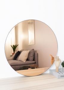 Spegel House Doctor Walls Roseguld 80 cm Ø