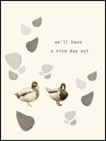 Nice day out Poster