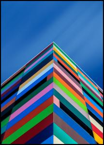 Color Pyramid Poster