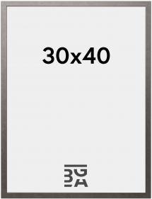 Ram Edsbyn Grafit 30x40 cm