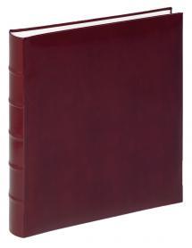 Walther Fotoalbum Classic Röd - 29x32 cm (60 Vita sidor / 30 blad)