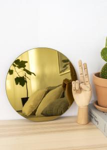 KAILA Rund Spegel Gold 30 cm Ø