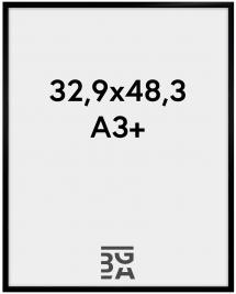 New Lifestyle Akrylglas Svart 32,9x48,3 cm (A3+)