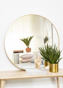 KAILA Rund Spegel Edge Gold 100 cm Ø