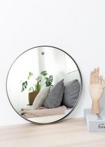 Spegel House Doctor Reflektion Svart 40 cm Ø