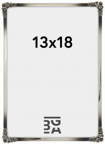 Rosen Metall Silver 13x18 cm
