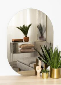 KAILA Spegel Oval Dark Bronze 70x100 cm