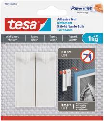 Tesa - Självhäftande spik för alla typer av väggar (max 2x1kg)
