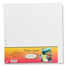 Albumblad Timesaver Gigant - 10 Vita ark