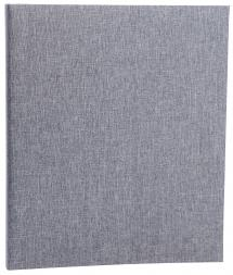 Base Line Canvas Ringpärm - Grå